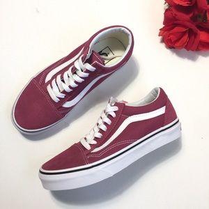 NEW Old Skool Dry Rose True White Low Cut Sneakers